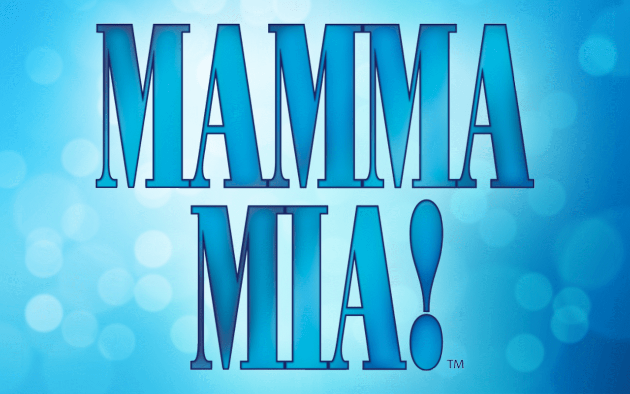 Mamma Mia Website banner